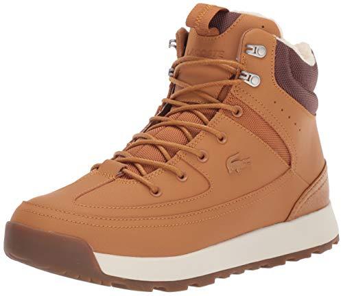 Lacoste Urban Breaker - Botas de Moda para Hombre, Bronceado/marrón, 8 US