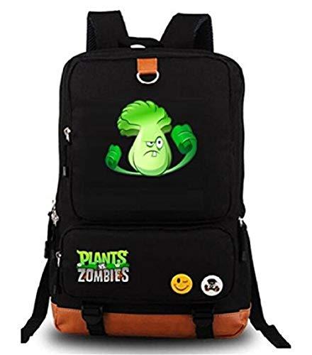 Bkckzzz Niedliche Pflanzen Zombie Hot Game Bookbag Rucksack Schultasche @ C3