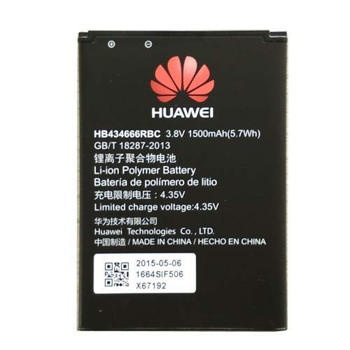 Ersatz-Akku für Huawei Web Pocket Huawei E5573 - E5575 - E557 HB434666RBC 1500mAh Pocket Cube H3G Modem Router TRE BOMAItalia