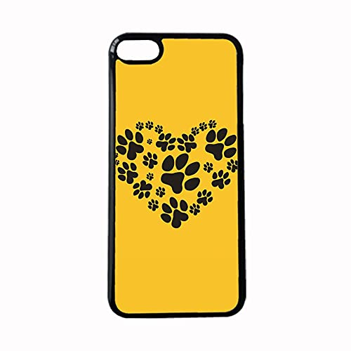 for Girls Printing Dog Paw 1 Hard Pc Phone Case Interesting Compatible with Apple Touch 6