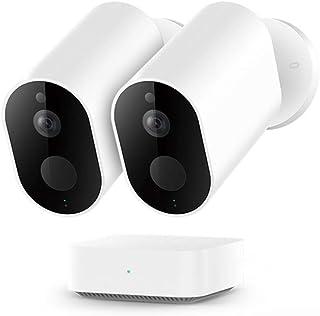 IMILAB HD Camera EC2, WiFi Wireless 1080P Home Security PIR IP65 Impermeabile Esterna Visione Notturna Telecamera di Sorve...
