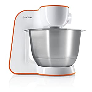 Bosch MUM54I00 – Batidora (Naranja, Acero inoxidable, Color blanco)