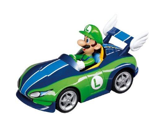 Carrera Go - 20061260 - Voiture Miniature et Circuit - Mario Kart Wii - Wild Wing Luigi
