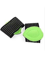 وسادة دعم قوس القدم التي توضع في حذاء التقويم للتخلص من الام القدم المسطحة والتهاب اللفافة الاخمصية