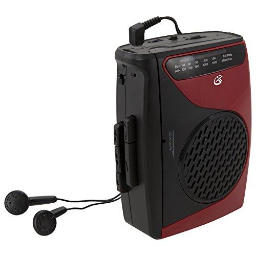 GPX Portable Cassette Player, 3....