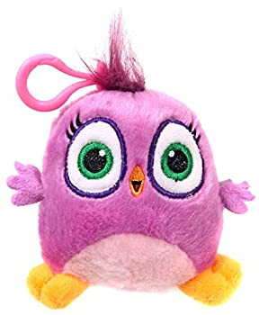 Rovio Angry Birds Hatchlings Hot Pink 4-Inch Plush Clip On