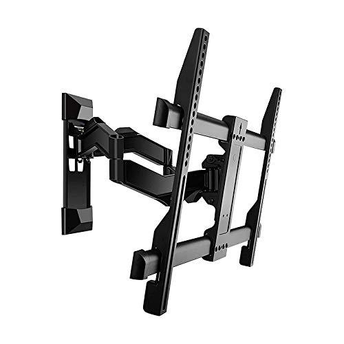 Soportes de pared para TV Soporte de TV de acero laminado en frío ajustable en ángulo, Soporte de pared de TV articulado de extensión, Adecuado para soporte de pared de 32-65 pulgadas, VESA 100x100-60