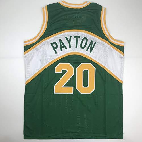 Unsigned Gary Payton Seattle Green Custom Stitched Basketball Jersey Size Men's XL New No Brands/Logos