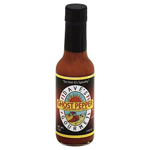 DAVE'S GOURMET, Sauce Hot Gourmet Ghost Pepper, 5 OZ(Pack of 3)