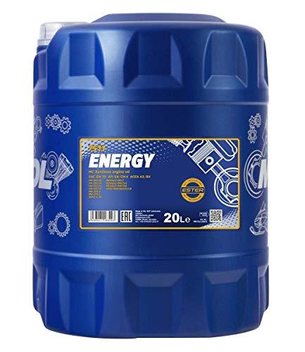 Mannol MN7511-20 Energy 5W-30 Olio Motore, 20L Volume