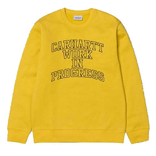 Carhartt WIP Division Embroidery Sweat, Sudadera sin Capucha para Hombre