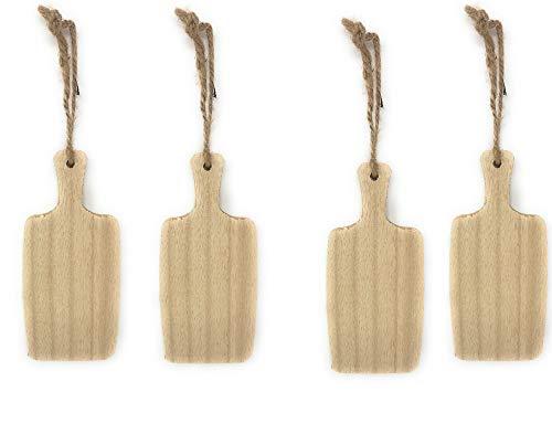 Set 4 vassoi in legno per aperitivo Ideali per servire aperitivi, salumi, formaggi Dimensione: 15x7,5 cm-spessore 1 cm Riceverete 4 pezzi