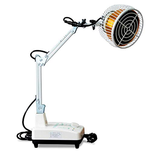 Purchase SCYTSD Infrared Heat Lamp,Mineral Therapy,for Body Muscle Joint Pain Relief with Improve Sl...