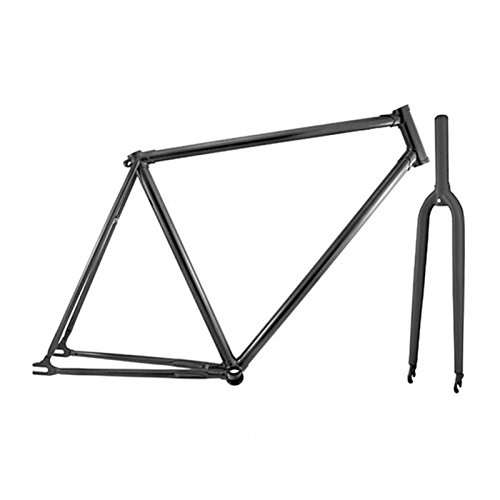 Permanente fiets Retro Single Speed moffen frame met vork