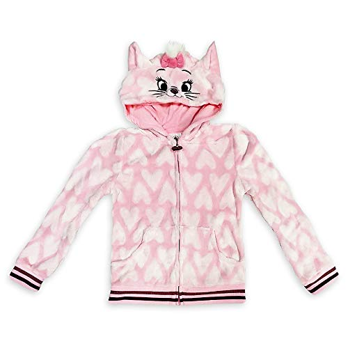Disney Marie Zip-Up Hoodie for Girls – The Aristocats, Size 4