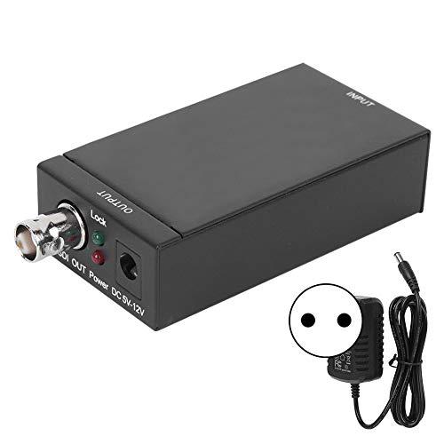 Boquite Convertidor HDMI a SDI Divisor de Pantalla de Video Adaptador HDMI 3G Controlador de Pared 1080P Batería Solar(European regulations)