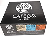 Cafe Ole Single Serve Keurig K-Cup Coffee Pods Variety Pack Taste San Antonio, Texas Pecan & Donut Shop 54 count (54 Count)