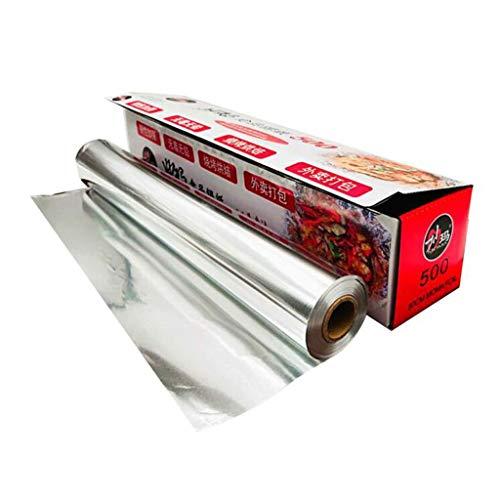 DALL aluminiumfolie papier anti-aanbaklaag hittebestendige keuken catering tin folie grill oven bakken voedsel Wrap roosteren voedsel service