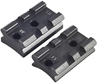 Nightforce Optics Steel Two Piece Scope Mounting Base with 20 MOA Taper, for The Remington Model 700 Short Action Rifles.