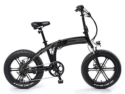 Momo MD-E20FF3-S - Bicicleta eléctrica Plegable Tokyo Unisex para Adulto, Gris caña...