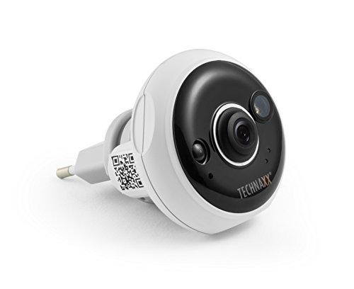 Technaxx 4577 TX-57 Easy FullHD Überwachungskamera für Innenbereiche Steckdose weiß