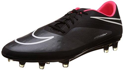 Nike Herren HYPERVENOM Phatal FG Fußballschuhe, Schwarz (Black/Black-Hyper Punch-White 016), 44 EU