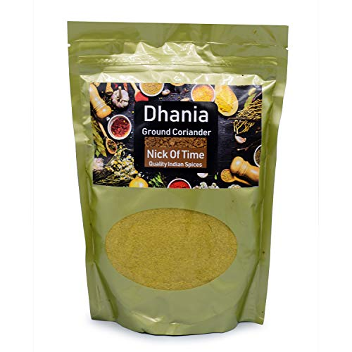 NICK OF TIME Coriandolo In Polvere (Dhania) Dal Rajasthan India |400 G / 14,1 Once|