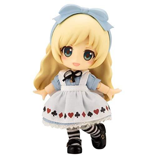 Luckly77 CU-Poche Amigos: Alice CU-Poche Figura Estatua muñeca Adornos Multicolor Animado Modelo 12 cm / 4,8 pulg
