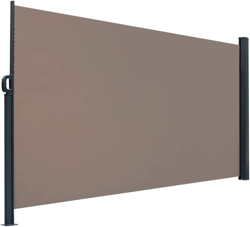 Henf Los Angeles Mall Retractable Privacy Fence Awning Patio Screen Side Sale SALE% OFF