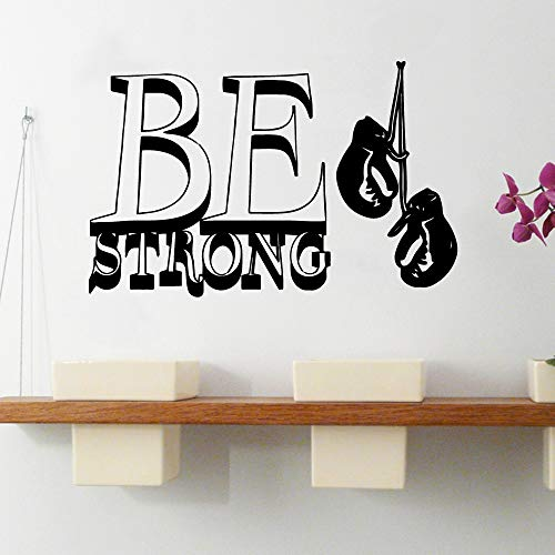 Haus Dekoration Aufkleber Tapete Decor Tapete Seien Sie Starkes Boxen Vinylrolle Möbel dekorativ for Babyzimmer Vinyl 3929 (Color : Light Green, Size : XL 57cm X 89cm)