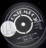 EVERY COUPLE'S NOT A PAIR 7' (45) UK CONTEMPO 1973 B/W I REFUSE TO KNOW YOUR NAME (C3) LARGE STICKER ON A-SIDE LABEL