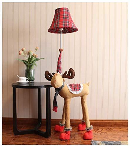 Lámpara de pie Habitación de los niños Mono de dibujos animados Lámpara de pie Dormitorio Lámpara de noche minimalista moderna Sala de estar creativa Decoración de estudio Lámpara de mesa vertica