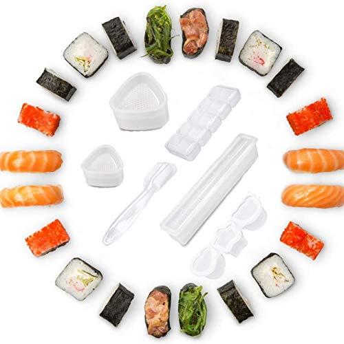 6Pezzi Stampo per Palline di Riso, Riso Stampo Onigiri, Triangolo Stampo Sushi, La Forma Delicata E Carina Rende La Cottura Più Interessante