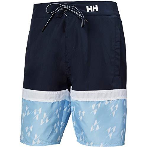 Helly Hansen Marstrand - Costume da Bagno da Uomo, Uomo, Bermuda, 33982, 596 Navy, 30