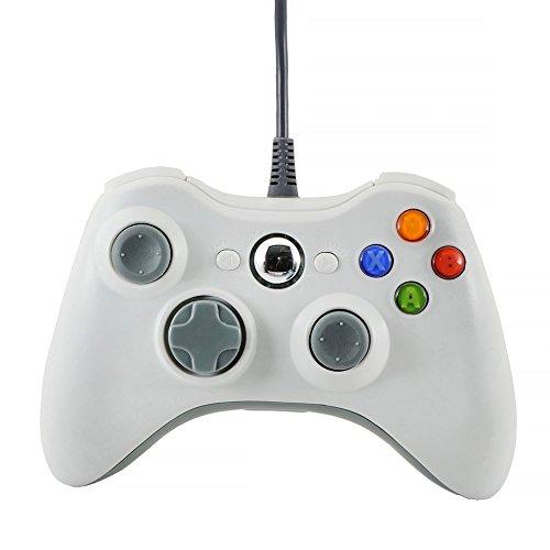 QUMOX Mando de juego Controlador USB Pad Joystick Joypad Juego Gamepad para Xbox360 PC Windows 7