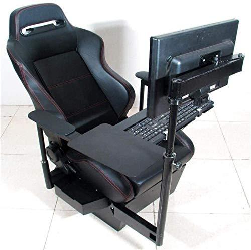 YONGYONGCHONG Silla de oficina para computadora de cabina compatible con vuelo Racing Boss Esports Silla reclinable para computadora para el hogar, juego y barra de surf
