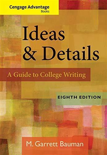 Cengage Advantage Books: Ideas & Details