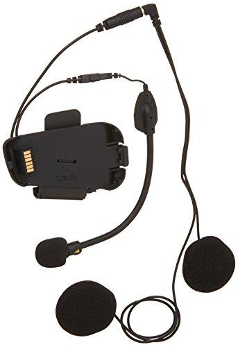 Cardo SRAK0032 Scala Rider Audio- und Mikrofon-Set mit Hybrid- und Kabelgalgen für Packtalk