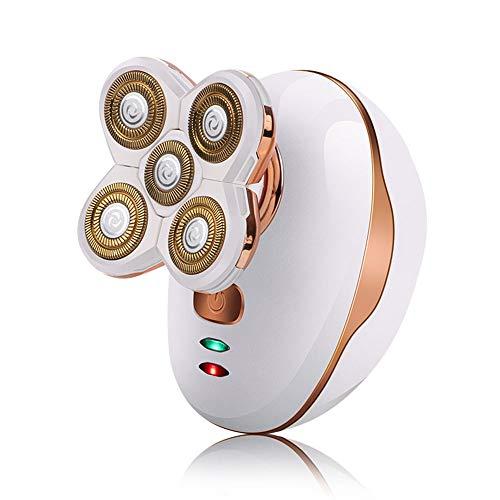 Subobo Set met tondeuse, oplaadbaar, USB, vijf koppen.
