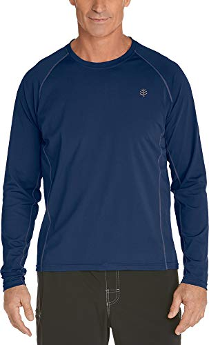 Cooli Bar Protection UV 50 + Bain Manches Longues Homme XXL Bleu