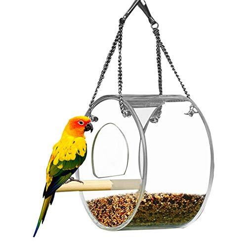 Openg Bird Feeders For Small Birds Bird Feeder Hanging Bird Feeding Robin Bird Feeder Niger Seed Bird Feeder Bird Nut Feeder Mealworm Feeder round