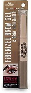 Hard Candy Brows Now Fiberized Brow Gel & Brow Highlighter, # 849 Light /Medium