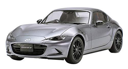TAMIYA 24353 1:24 Mazda MX-5 RF, originalgetreue Nachbildung, Modellbau, Plastik Bausatz, Basteln, Hobby, Kleben, Modellbausatz, Zusammenbauen, unlackiert