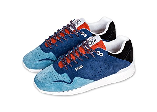 Djinns - EasyRun Full Effect (Black/Hibiscus/Turquoise) - Sneaker, EU 39