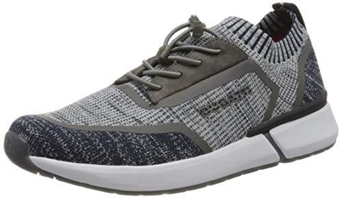 bugatti Herren 341927606900 Slip On Sneaker, Blau, 40 EU