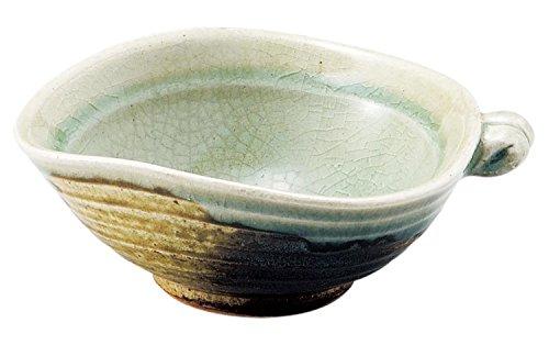三陶 萬古焼 おつまみ鉢 ビードロ 直径12.5cm 09678