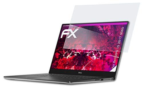 atFolix Glasfolie kompatibel mit Dell XPS 15 2017 9560 Panzerfolie, 9H Hybrid-Glass FX Schutzpanzer Folie
