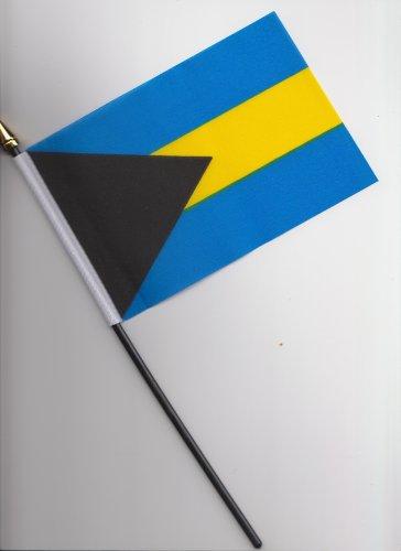 Flagge Bahamas, 25 cm