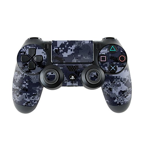 Sony PlayStation 4Controller Skin–Design Schermo Sticker Decal Set Styling per PS4controller (anche PS4Slim & PS4Pro), Digital Navy Camo