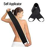 Bräunungslotion-Applikator, Selbstbräunungslot-Applikator, für Back Tanner Lotion Sonnenschutzapplikator Lotion auf den Rücken auftragen Glatt Gleichmäßiger Back Lotioner